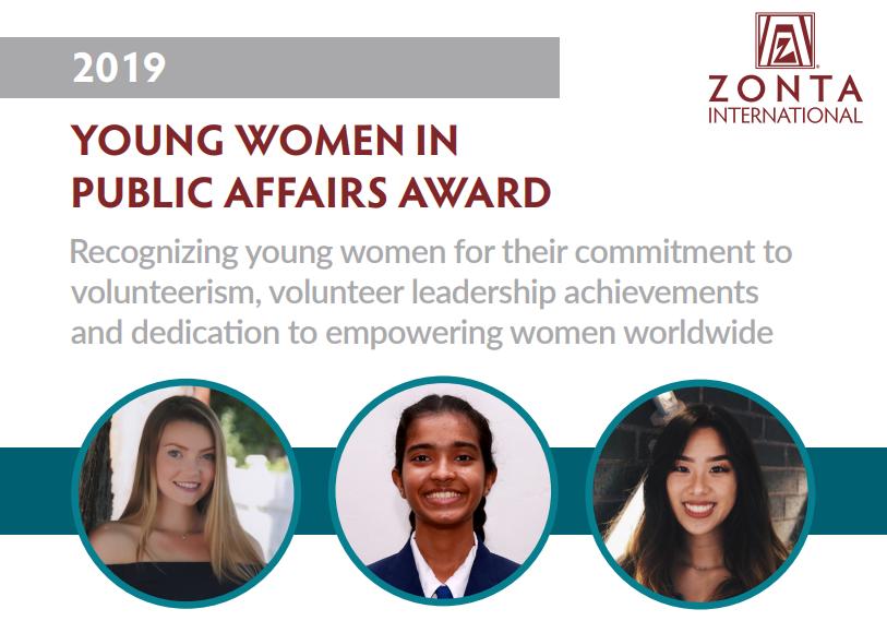 Verleihung des YWPA Award 2019