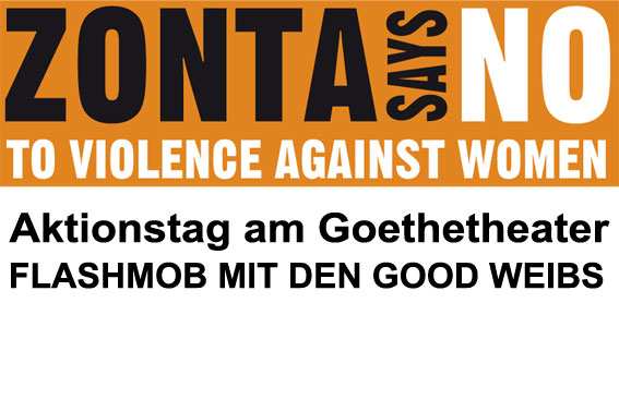 Aktionstag Orange your City – Zonta says No